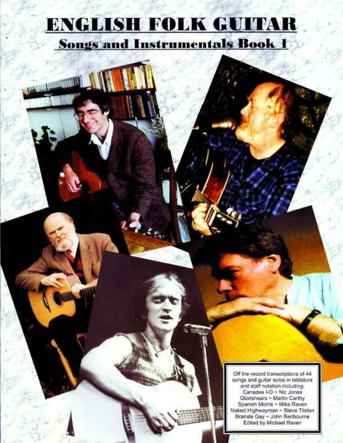 ENGLISH FOLK GUITAR Book by Mike Raven. From Hobgoblin Music