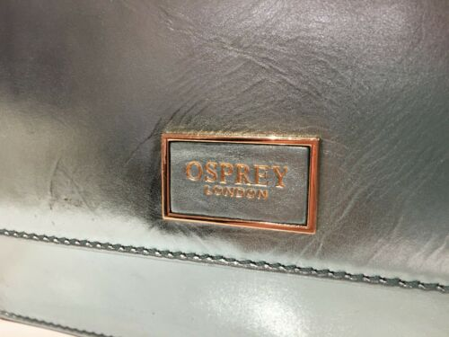 a catena turchese £ London Borsa in 165 metallizzata pelle Jezebel Osprey 7dq7Bxfw
