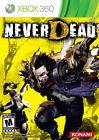 NEVERDEAD Never Dead Konami Microsoft Xbox 360 PAL Video Game &