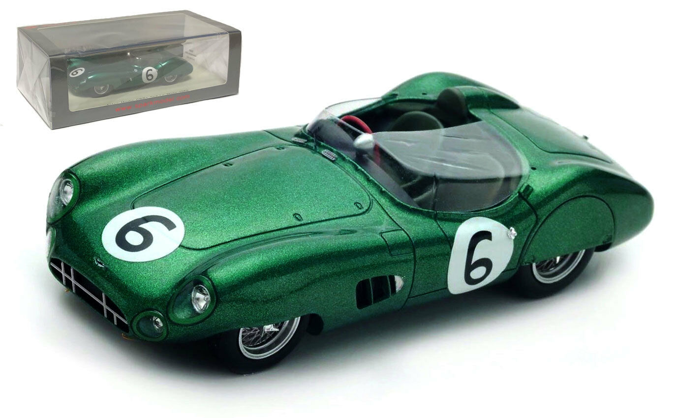 Spark S2439 Aston Aston Aston Martin DBR1 nd Le Mans 1959 - Trintignant Frere 1 43 Scale 7b1b23