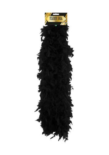 Fancy Dress Feather Boa Hot /& Baby Pink black red white purple yel150CM Long 50g