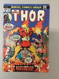 Thor-The-Mighty-225-Bronze-Age-Marvel-Comics-1974-WITH-STAMP-1st-App-Firelord