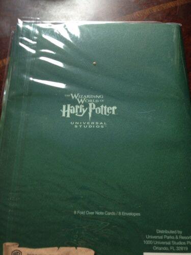 Universal Studios Orlando Harry Potter Wizarding World Stationary Set Slytherin