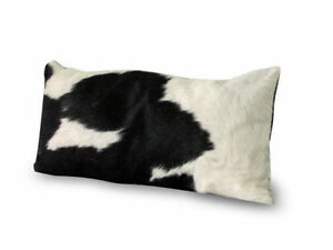Cowhide-Pillow-Cover-Cushion-Cow-Hide-Hair-on-cover-12-034-x-24-034-Set-of-2