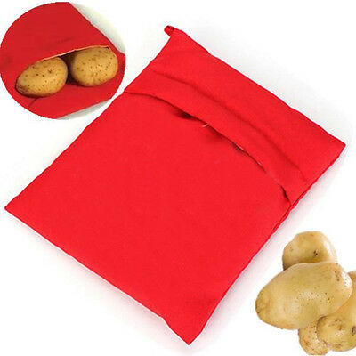 1PC Potato Express Microwave Cooker Bag 4 Minutes Fast Reusable Washable
