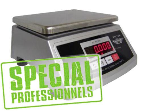 Balance de cuisine etanche neuve inox 12 kg x 1g