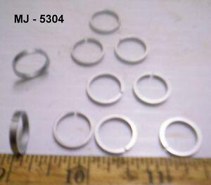 Pack-of-10-Steel-Piston-Rings-NOS