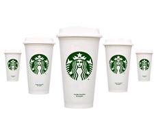 2 Starbucks Tumbler Reusable Travel To Go Plastic Cup 16oz Grande Coffee Tea New