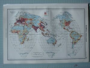 Details about 1952 MAP ~ WORLD POTION EUROPE AFRICA INDIA NORTH & SOUTH on map of north america, map of usa states only, map western usa, united states maps usa, map of usa with states and cities, map of south west usa, map colors, map games usa, world globe showing usa, map cute usa, show map of usa, map all usa, map of united, map driving usa,