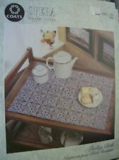 2 Opera Crochet Patterns- Mats For Nesting Table and Trolley Cloth