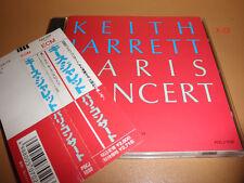 KEITH JARRETT cd PARIS CONCERT live POLYDOR JAPAN the wind BLUES
