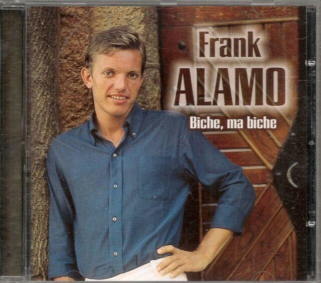 CD COMPIL 15 TITRES--FRANK ALAMO--BICHE MA BICHE