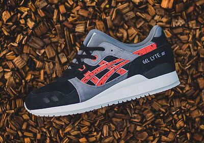 Asics GEL LYTE III (Black Chili) [H6B2L 9024] Granite Pack Running Mens | eBay
