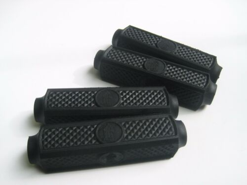 "VINTAGE BICYCLE BIKE RUBBER BLOCK FOR 4/"" RALEIGH BICYCLE PEDALS 4 PIECES 1 SET"