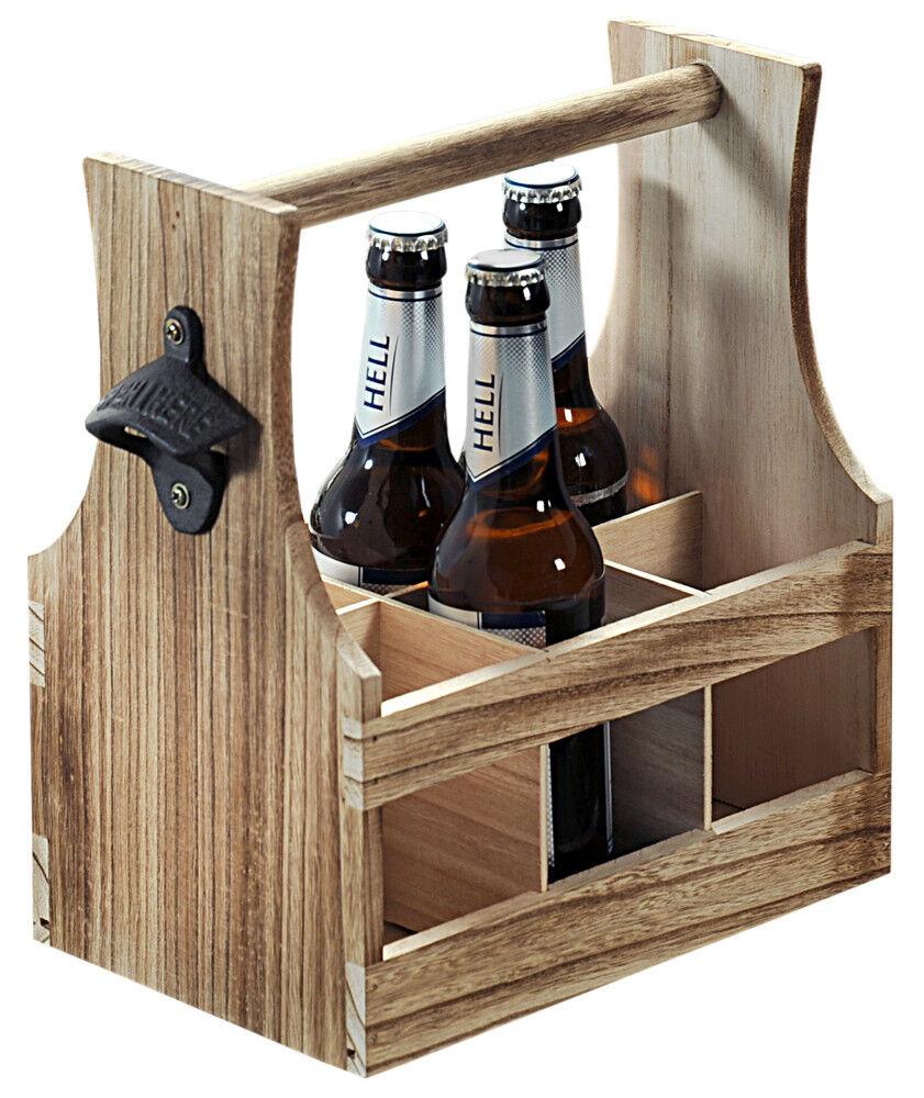 uti gmbh bierträger für 7 flaschen - flaschenträger -1/2 meter bier