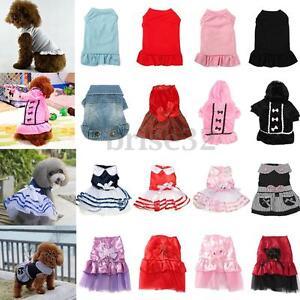 Cute-Princess-Bow-Dog-Pet-Puppy-Dress-Tutu-Skirt-Layered-Clothes-Apparel