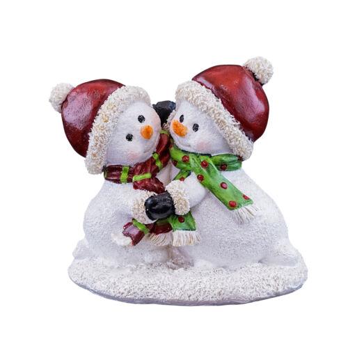 Zubehör Schneemänner Tanzende Miniatur Puppenhaus Märchengarten