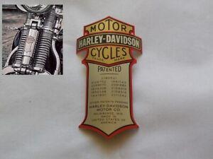 Harley-Davidson-B-amp-S-Medallion-Emblem-fuer-Springer-Gabel-Cross-Bones-66030MP