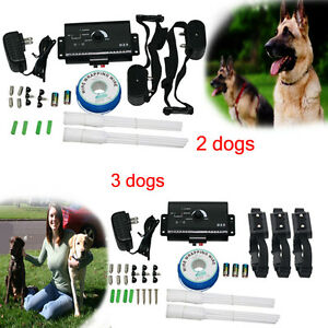 Electric-Dog-Fence-System-2-3-Water-Resistant-Shock-Collars