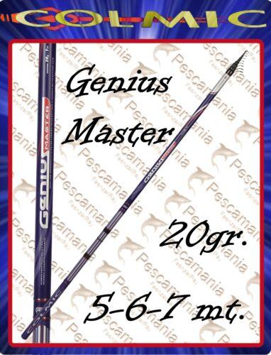 Canna colmic GENIUS MASTER Bolo mt.5,00-6,00-7,00 casting 20 gr.