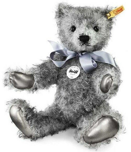 New Steiff Teddy Bear OLLY Jointed + Steiff Gift Box Box Box Ideal Boy Girl Gift 000409 62e12f