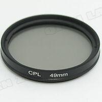 49mm CPL Circular Polarizing FILTER For for Sony NEX-7 NEX-C3 NEX-5N NEX-5