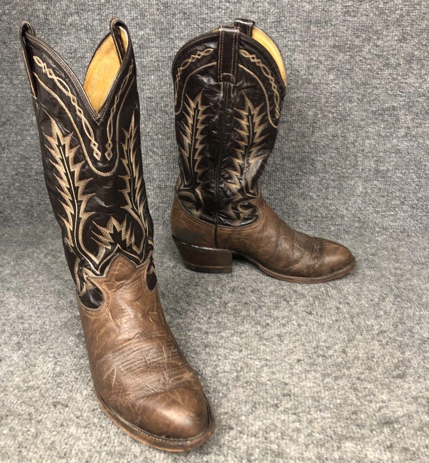 fino al 60% di sconto Tony Lama Bullhide Leather Western Cowboy stivali Uomo 7 7 7 EE Style 6703  rivenditori online