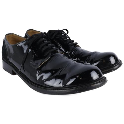 COMME des GARCONS HOMME/Leather Shoes/27cm/BLK