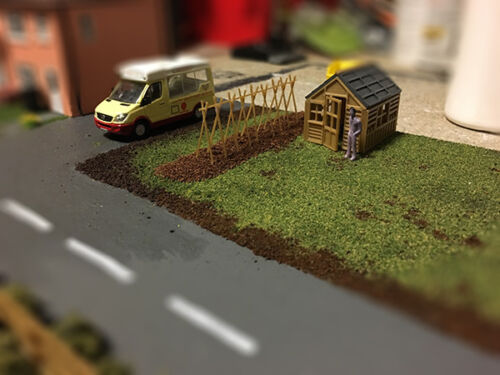 OO Scale Guage Glazed Shed Bean sticks
