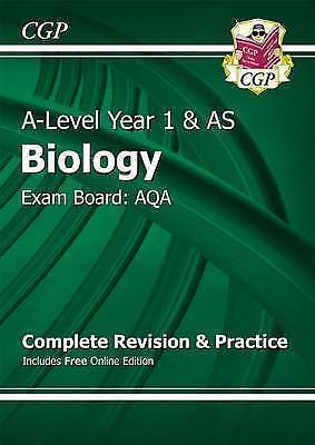 1 of 1 - New A-Level Biology: AQA Year 1 & AS Complete Revision & Practice with Online Ed