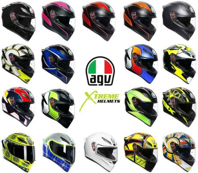 Full Face Helmet Agv K5 S Multi Pinlock Firerace Black Italy Size Ml For Sale Online Ebay