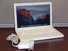 "Apple MacBook 5,2 13"" Laptop Computer 2300 C2D 2.0GHz 2GB 120GB 10.11 El Capitan"