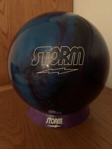 14lb-NEW-Storm-ASTRO-PHYSIX-Bowling-Ball-Pin-Cg-Mb-Close-Straight-Line