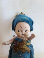 uralte kleine Kewpie Puppe, Puppenstube, original, keine Repro( 5)