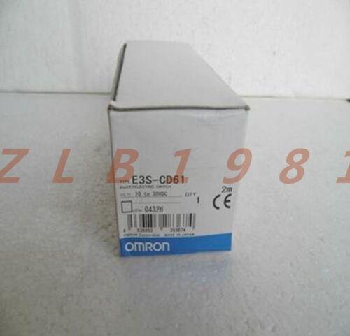 OMRON E3S-CD61 Sensors ONE NEW
