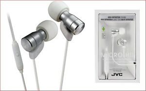 JVC-Ha-Frd60-Blanc-Micro-HD-Ecouteurs-Intra-Auriculaires-avec-Microphone-Remote