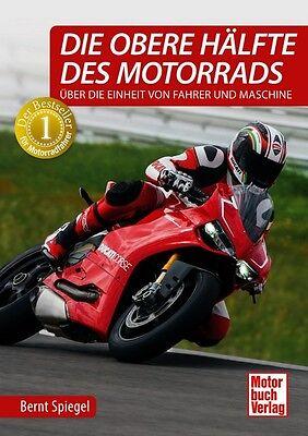 Die Obere Hälfte Des Motorrads Fahrtraining Bike Sicherheitstraining Motorrad