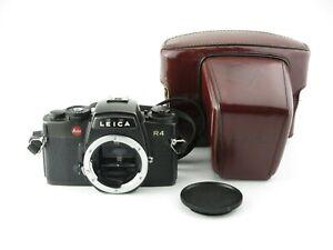Leitz-Leica-R4-SLR-Spiegelreflexkamera-mit-body-cap-in-Box