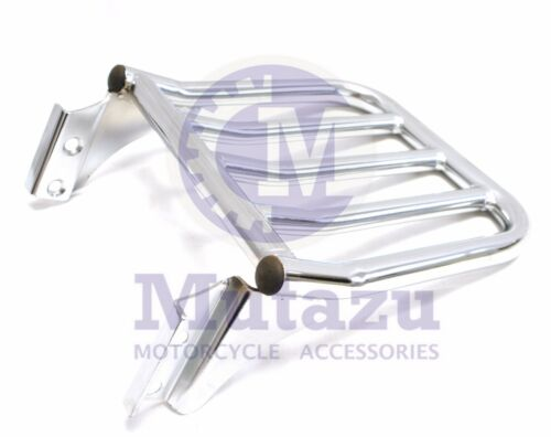 DYNA Softail Sissy bar backrest Two up Luggage rack for Harley HD Sportster