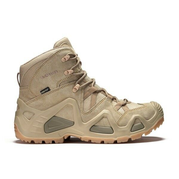 Zapatos Rangers Lowa Zephyr Mid Gore-Tex Coyote Tamaño 44,5   GTX Beige Tf