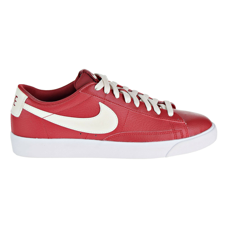Nike blazer basso di scarpe da uomo rosso / bianco aj9515-600