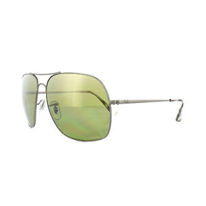 7eeeb6ae7d4 Image is loading Ray-Ban-Sunglasses-3587CH-029-6O-Gunmetal-Polarized-