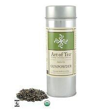 Art of Tea Fair Trade Organic Gunpowder Loose Leaf Green Tea 4.5oz