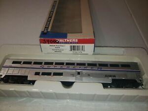 Walthers-AMTRAK-TSL-je-Voiture-Coach-932-6163-Amtrak-Phase-IV-34000-utilise