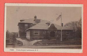 New-York-Larohmont-Publici-Scuola-Foto-Cartolina