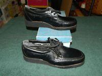 Scholl Maria Black Oxford Occupational Orthopedic Shoe Size 5.5 B