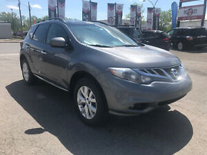 2013 Nissan Murano SV, CAM, AWD, CUIR, TOIT PANO, MAGS, A/C,3.5L