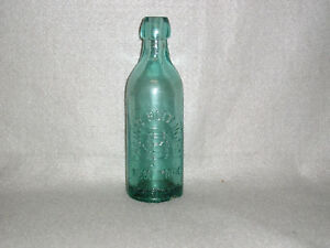 Antique-Glass-Mineral-Water-Bottle-Pacific-Bottling-Co-New-York-Crude-pre-1900