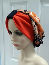 Slouchy hat Beanie hijab hair covered Chemo one size summer Boho hat turban...