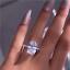 Ring-54-56-58-Fingerring-Silber-925-Kristall-Zirkonia-Verlobungsring-Damen Indexbild 1